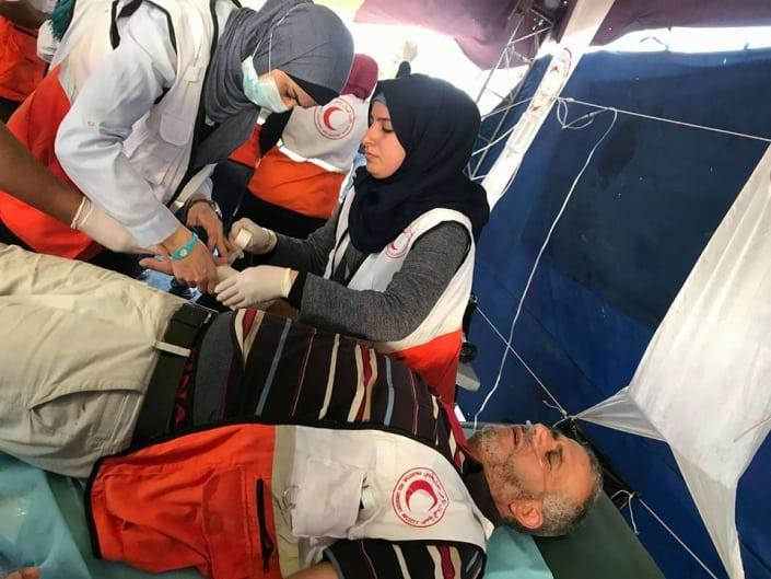 Gaza shooting