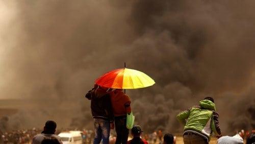Chem attacks Gaza