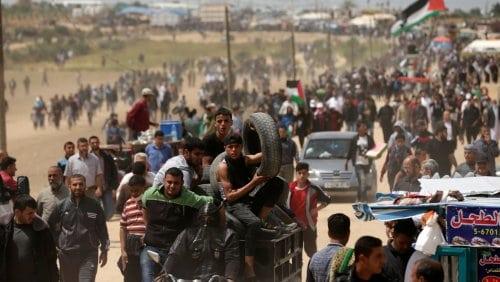 Chemical attacks Gaza