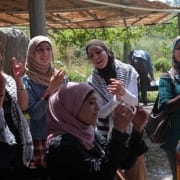 Women are the real invisible heroines of Gaza.